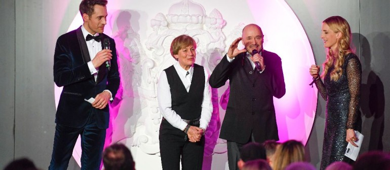 Alexander Mazza, Rosi Mittermaier und Christian Neureuther FASHION CHARITY DINNER im Hotel Vier Jahreszeiten Kempinski Munich in MŸnchen am 15.03.2018. Agency People Image (c) Michael Tinnefeld  STRICTLY NO FAN WEBSITE / NO BLOG USE / NO SOCIAL MEDIA !!!