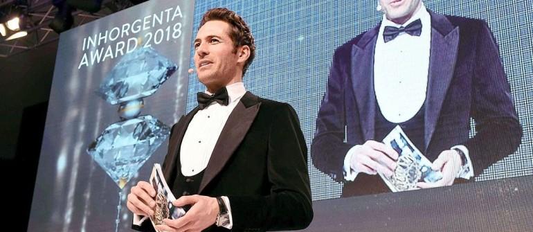 Alexander Mazza  INHORGENTA AWARD im Postpalast in München am 18.02.2018 Agency People Image (c) Michael Tinnefeld