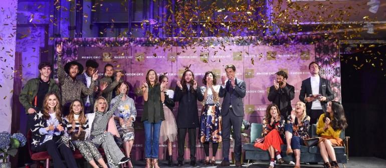 Gruppen/Abschlussbild KONEN Maison Chic Event im KONEN Modehaus in München am 30.08.2017 Foto: BrauerPhotos / G.Nitschke für KONEN
