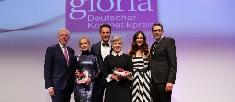 DUESSELDORF, GERMANY - MARCH 30:  attend the Gloria - Deutscher Kosmetikpreis at Hilton Hotel on March 30, 2019 in Duesseldorf, Germany. (Photo by Andreas Rentz/Getty Images for KOSMETIK International Verlag)