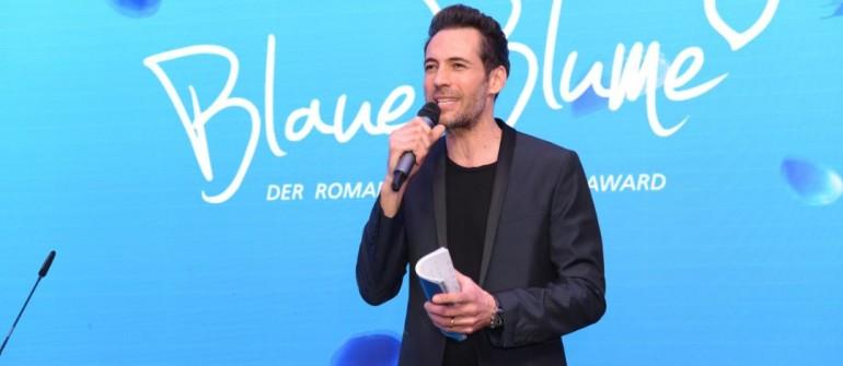 Alexander Mazza (Moderator)  BLAUE BLUME IM THE REED in Berlin am 19.02.2020 Foto: Blaue Blume
